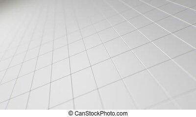 tourner, rectangles, fond