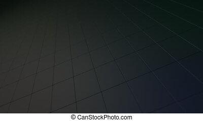 tourner, sombre, résumé, surface., bloc
