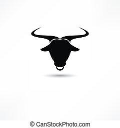 touro, ícone