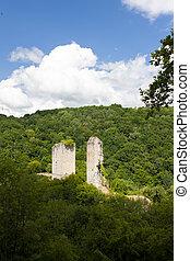Tours de Carbonnieres, Correze, France