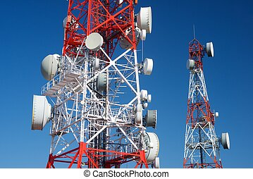 tours, télécommunications