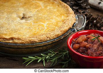 Tourtiere meat pie