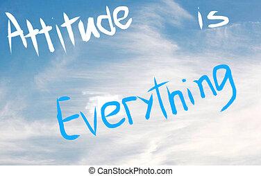 tout, attitude