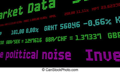 tout, bruit, investisseurs, politique, bloc dehors