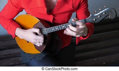 touwtje, -, instrument, domra., traditionele