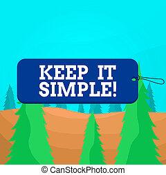 touwtje, simple., rechthoek, tekst, schrijvende , badge, ...
