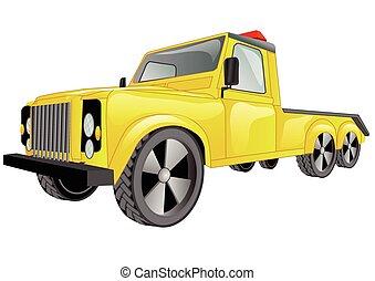 tow truck car