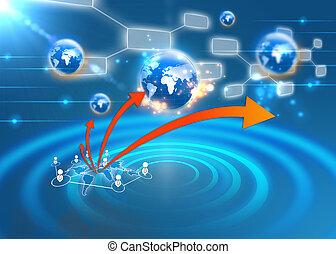 towarzyski, sieć, pojęcie
