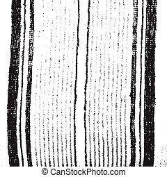 Towel - Distressed Lines Black and White Overlay Wavy...