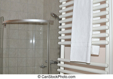 Towel dryer and towels