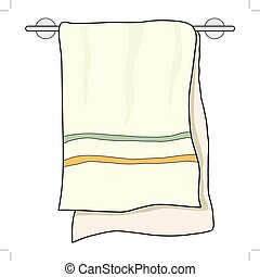 towel, home related object
