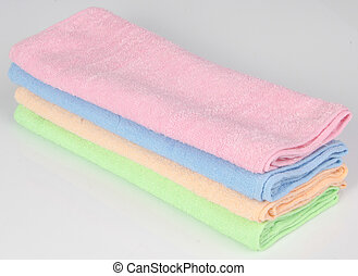 towel. Kitchen towel on a background - towel. Kitchen towel...