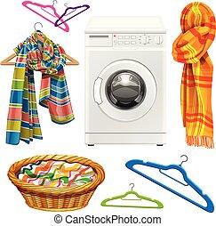 towel, scarf, basket, hangers and w - towel, scarf, basket, ...