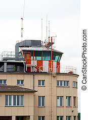 Tower air traffic controllers - An observation tower and...