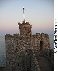 Tower at a fortress