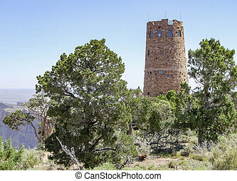 tower at the Grand Canyon in Arizona