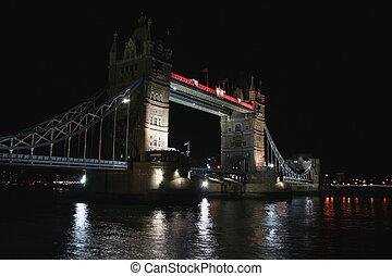 Tower Bridge evening