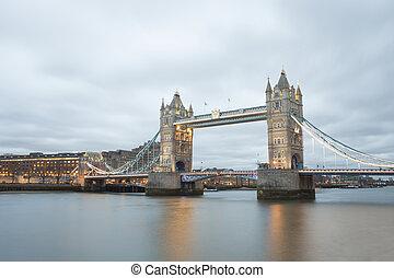 Tower Bridge in London city