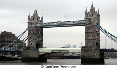 Tower Bridge in London During Day