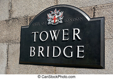 Tower Bridge in London - England UK
