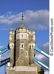 Tower Bridge, London, England - British landmark,