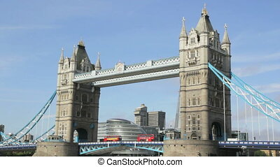 Tower Bridge London - The Tower Bridge in London, England