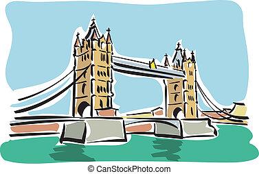 (tower, bridge), londyn