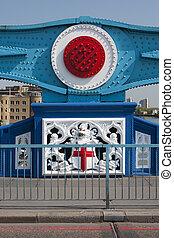 Tower Bridge of London sign