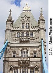 Tower Bridge on the River Thames, London, United Kingdom