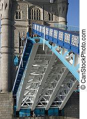 Tower Bridge Open to Shipping