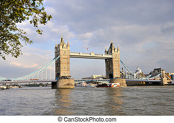 Tower Bridge over the River Thames