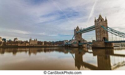 Tower Bridge Time lapse smooth