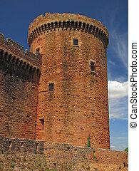 Tower, Castelnau Castle