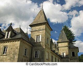Tower, castle Vassiviere