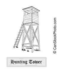 tower., caza