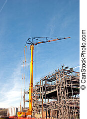Tower Crane and Steelwork