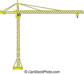 crane building crane tower crane