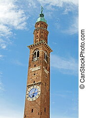 Tower designed by architect Andrea the Palladian Basilica -...