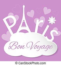 Tower Eiffel with Paris
