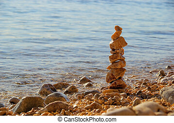 tower from pebbles 01