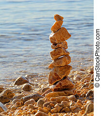 tower from pebbles 10
