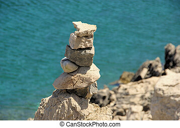 tower from pebbles 14