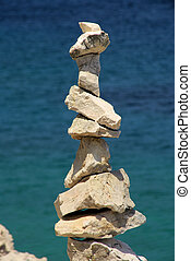 tower from pebbles 20