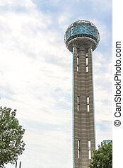 tower in Dallas city