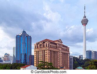 tower in Kuala Lumpur, Malaysia