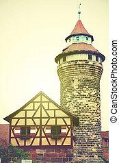 Tower in Nuremberg Castle