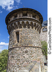 Tower in the castle of Wernigerode