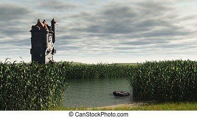 Tower in the Marshes