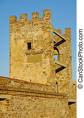 Tower in the old fortress