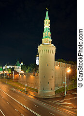 Tower Kremlin in the Moscow